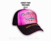Кепка тракер CRAZY FISH