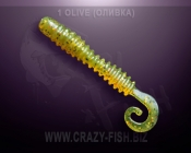 Crazy Fish ACTIVE SLUG 2""